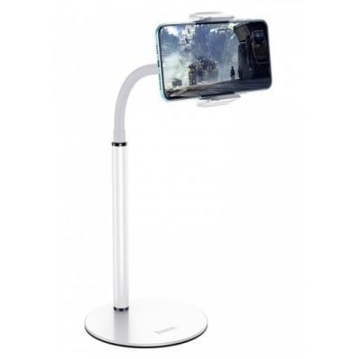 """Настольный держатель Hoco PH28 Soaring metal desktop stand 4,7-7"""" White"""