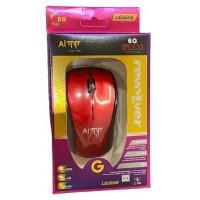 Мышь/mous Беспроводная оптическая мышь AITNT 6G Red