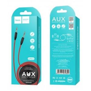 AUX-кабель НОСО UPA11 AUX 1m. Black