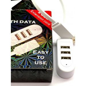 USB-Hub 3 in 1 White Box