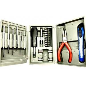 Набор инструментов в чемодане 24 in 1 Grey Box