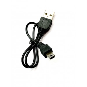 USB Кабель mini USB V3 5pin 40 см Black