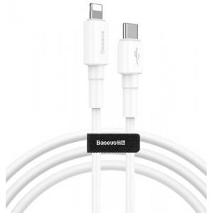 PD кабель Baseus Mini White Cable Type-C to iP PD 18W 1m White