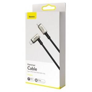 PD кабель Baseus hammer cable Type-C PD3.1 Gen2 100W(20V/5A) 1.5m Black