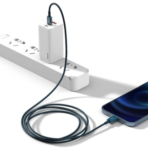 PD кабель Baseus Superior Series Fast Charging Data Cable Type-C to iP PD 20W 1m Blue CATLYS-A03