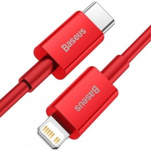 PD кабель Baseus Superior Series Fast Charging Data Cable Type-C to iP PD 20W 1m Red CATLYS-A09