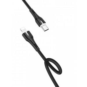 PD Кабель HOCO X45 Surplus PD for Lightning-to-USB-C 60W/3A/1m. Black