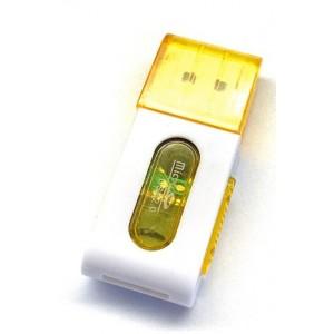 Картридер S-019 TF microSD color mix