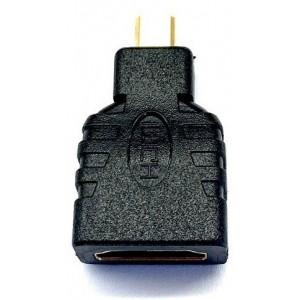 Переходник HDMI F- micro HDMI Black