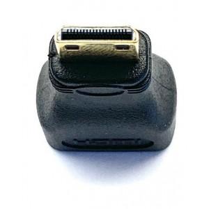 Переходник HDMI F- mini HDMI Black