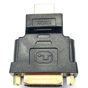 Переходник DVI 24+5 -HDMI(папа) Black