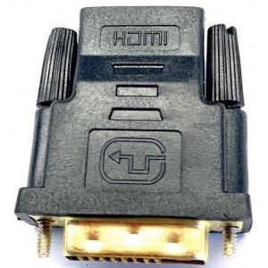 Переходник DVI 24+5 -HDMI(мама) Black