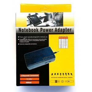Power adapter универсальный 96Wt 12-24 V с насадками