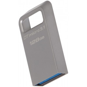 USB 3.0 Kingston DTMicro USB 3.1/3.0 Type-A 128GB Metal