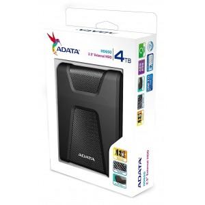 Внешний жесткий диск 2.5'' ADATA USB 3.0 DashDrive Durable HD650 4TB Black
