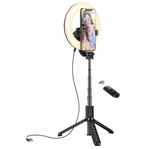 Кольцевая Лампа Hoco LV03 Showfull fill light live broadcast holder Black