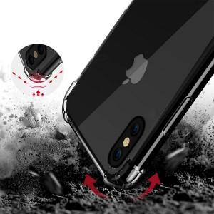 Силиконовая накладка противоударная IPHONE X / XS CAMERA Clear