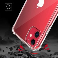 """Силиконовая накладка противоударная IPHONE 12 mini 5,4"""" Clear"""