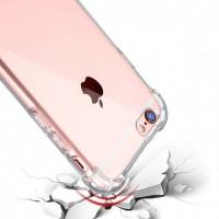 Силиконовая накладка противоударная IPHONE 6 / 6S CAMERA Clear