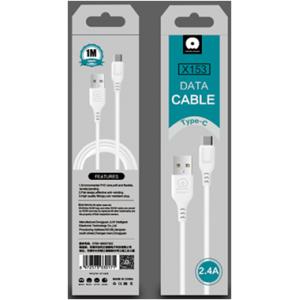 Кабель USB WUW X153 USB - Type-C 2.4A