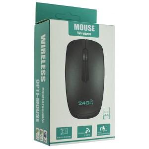 Мышь/mous Беспроводная оптическая мышь MOUSE WIRELESS black