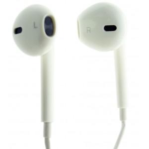 Наушники high quality IPHONE 3,5 mm White