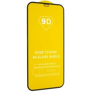 """Защитное стекло 9D Full Glue iPhone 12 PRO 6,1"""" Black тех.пак."""
