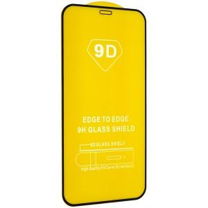 """Защитное стекло 9D Full Glue iPhone 12 mini 5,4"""" Black тех.пак."""