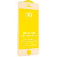 Защитное стекло 9D Full Glue iPhone 7 PLUS / 8 PLUS White тех.пак.