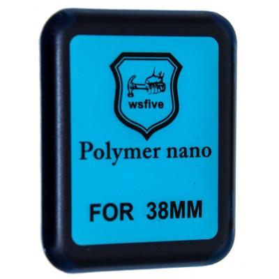 Защитная пленка POLYMER NANO FULL GLUE APPLE WATCH 38MM Black