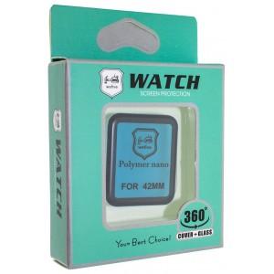 Защитная пленка POLYMER NANO FULL GLUE APPLE WATCH 40MM Series 4 Black