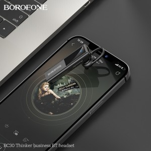 Bluetooth гарнитура BOROFONE BC30 Thinker business black