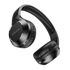 Наушники BOROFONE BO12 Power BT headset wireless with mic black