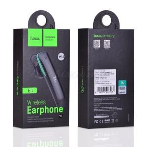 Bluetooth гарнитура HOCO E1 Black