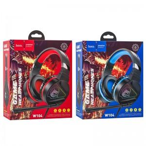 Наушники HOCO W104 Drift Gaming Red