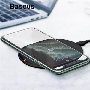 Беспроводное ЗУ Baseus Cobble wireless charger 15W Black WXYS-01