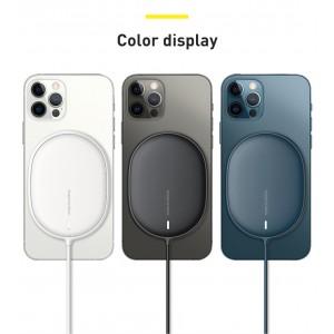 Беспроводное ЗУ Baseus Light Magnetic Wireless Charger Blue WXQJ-03