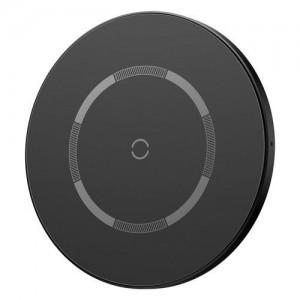 Беспроводное ЗУ Baseus Simple Magnetic Wireless Charger (suit for IP12) Black WXJK-E01