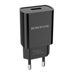 СЗУ BOROFONE BA20A Sharp 1USB/2.1A black