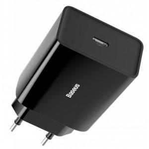 СЗУ Baseus Speed Mini Quick Charger 1C 20W EU Black CCFS-SN01