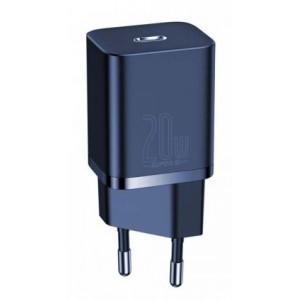 СЗУ Baseus Super Si Quick Charger 1C 20W EU Blue CCSUP-B03