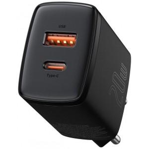 СЗУ Baseus Compact Quick Charger U+C 20W EU Black CCXJ-B01