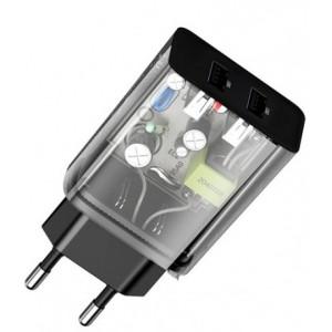 СЗУ Baseus Speed Mini Dual U Charger 10.5W Black