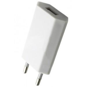 СЗУ плоский 1 USB White тех.упаковка