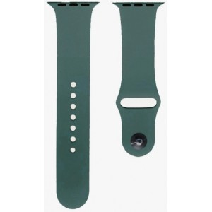 Ремешок Apl Watch Silicone 42/44mm S (49) Forest green