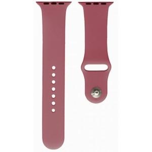 Ремешок Apl Watch Silicone 42/44mm S (62) Lilac pride