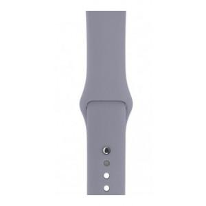 Ремешок Apl Watch Silicone 42/44mm S (46) Lavander grey