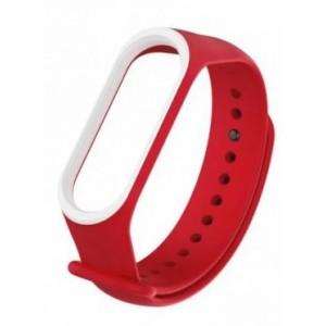 Ремешок Xiaomi Mi Band 3 RiM Red-white