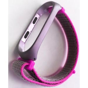 Ремешок Xiaomi Mi Band 3/4 Nylon NEW Sport Pink