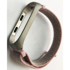 Ремешок Xiaomi Mi Band 3/4 Nylon NEW Sport Pink-sand